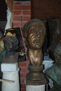Busto in bronzo LB117BR Costantino Imperatore Romano