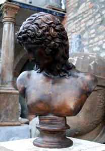 Busto in bronzo LB49BR Eros