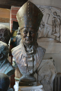 Busto in bronzo LB102BR Papa Giovanni Paolo II